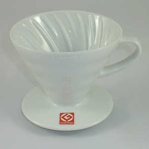 HARIO V60 01 White Coffee Dripper